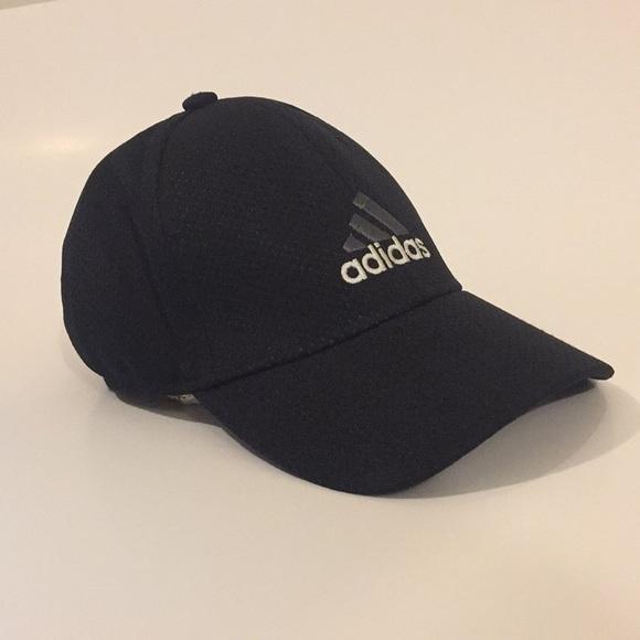 449cd476 adidas Accessories | Flex Fit Cap Men Size Lxl Black Gray Euc | Poshmark